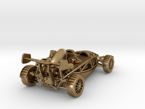1-24th scale Atom for trophy in Polished Gold Steel