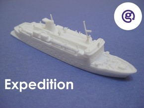 MS Expedition (1:1200) in White Natural Versatile Plastic