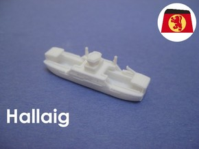 MV Hallaig (1:1200) in White Strong & Flexible