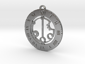 Gabriella - Pendant in Natural Silver