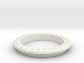 DRAW lamp - decorative ring A in White Natural Versatile Plastic