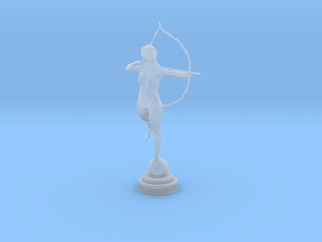 Bow n Arrow in Smooth Fine Detail Plastic