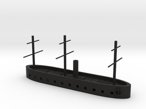 "1/600 CSS 1861 (""North's Ironclad""); HMS Danmark in Black Natural Versatile Plastic"