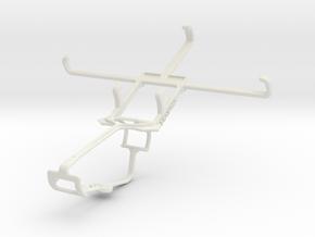 Controller mount for Xbox One & Acer Liquid E600 in White Natural Versatile Plastic
