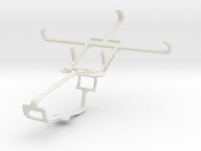 Controller mount for Xbox One & Alcatel Fire E in White Natural Versatile Plastic