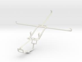 Controller mount for Xbox One & Alcatel POP 8S in White Natural Versatile Plastic