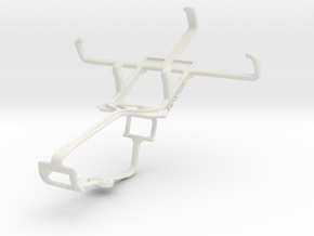 Controller mount for Xbox One & Alcatel Pop D1 in White Natural Versatile Plastic
