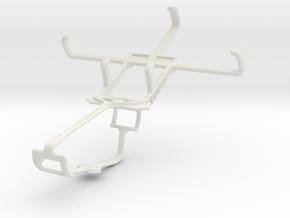 Controller mount for Xbox One & Alcatel Pop C3 in White Natural Versatile Plastic