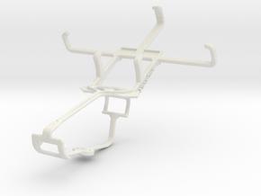 Controller mount for Xbox One & Alcatel Pop C1 in White Natural Versatile Plastic