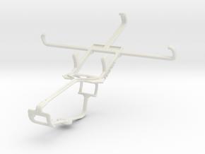 Controller mount for Xbox One & Alcatel Pop S7 in White Natural Versatile Plastic