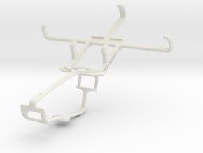 Controller mount for Xbox One & Gigabyte GSmart T4 in White Natural Versatile Plastic
