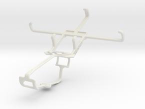 Controller mount for Xbox One & Gigabyte GSmart Re in White Natural Versatile Plastic