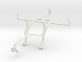 Controller mount for Xbox 360 & Gigabyte GSmart Re in White Natural Versatile Plastic