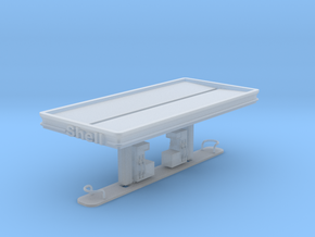N Scale Shell Station in Smooth Fine Detail Plastic