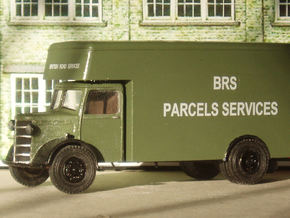 1:43 Bedford OL Cab & Chassis in White Natural Versatile Plastic