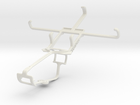Controller mount for Xbox One & Huawei Ascend Y550 in White Natural Versatile Plastic