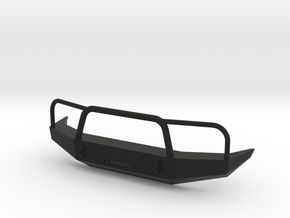 SCX10 Bumper in Black Strong & Flexible