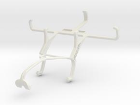 Controller mount for Xbox 360 & LG L Fino in White Natural Versatile Plastic