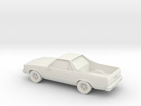 1/87 1981 Chevy El Camino  in White Strong & Flexible