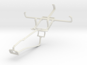 Controller mount for Xbox One Chat & Maxwest Andro in White Natural Versatile Plastic