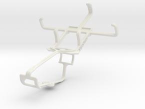 Controller mount for Xbox One & LG Optimus L2 II E in White Natural Versatile Plastic
