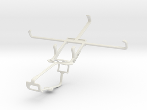 Controller mount for Xbox One & Micromax A119 Canv in White Natural Versatile Plastic
