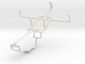 Controller mount for Xbox One & NIU Niutek 3.5D in White Natural Versatile Plastic