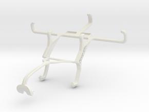 Controller mount for Xbox 360 & NIU Niutek 4.0D in White Natural Versatile Plastic