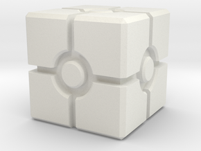Imperial Assault - Crate 20mm x 20 mm in White Natural Versatile Plastic