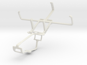 Controller mount for Xbox One & Samsung Galaxy Cam in White Natural Versatile Plastic