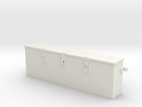1/16 IDF M50/51 Tool box in White Natural Versatile Plastic