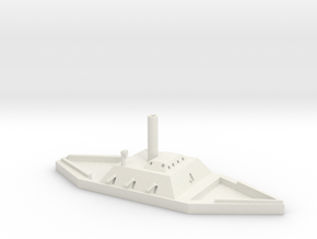1/600 CSS Huntsville in White Natural Versatile Plastic