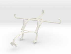 Controller mount for Xbox 360 & Samsung Galaxy S5  in White Natural Versatile Plastic