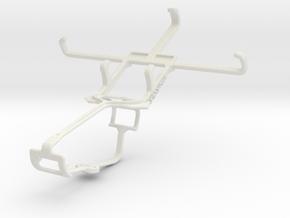 Controller mount for Xbox One & Unnecto Quattro Z in White Natural Versatile Plastic
