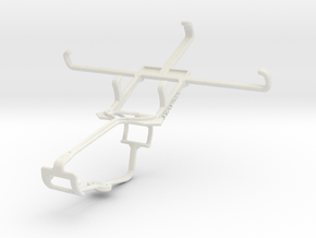 Controller mount for Xbox One & Xolo Q700s in White Natural Versatile Plastic