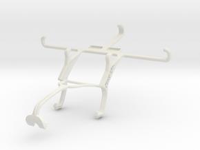Controller mount for Xbox 360 & XOLO Win Q900s in White Natural Versatile Plastic