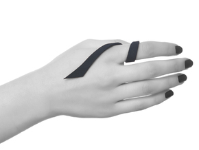 Kimberly Ovitz - Squama Ring in Black Natural Versatile Plastic