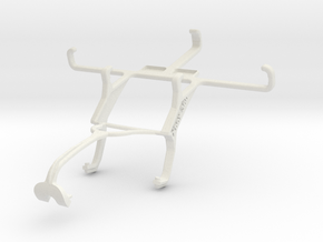 Controller mount for Xbox 360 & ZTE Blade Q Mini in White Natural Versatile Plastic