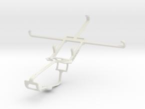 Controller mount for Xbox One & ZTE Grand Memo II  in White Natural Versatile Plastic