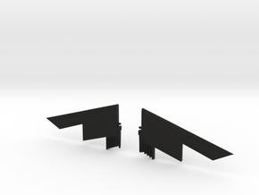 Transformers Seeker Stealth Wing Kit in Black Natural Versatile Plastic