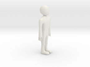Design Your Own Figurine in White Natural Versatile Plastic