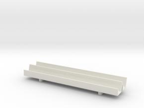 1/64 Fence Line Feedbunk - 60ft in White Natural Versatile Plastic