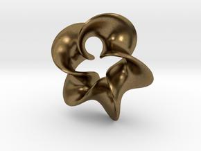 Star Flower 2 in Natural Bronze