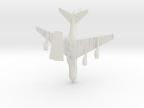 Airbus A380 in White Natural Versatile Plastic