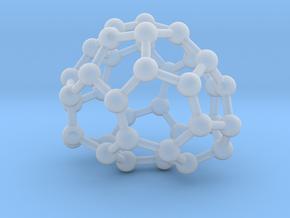 0087 Fullerene c38-6 c2  in Frosted Ultra Detail