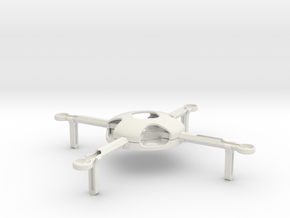 Quadcopter KIT (complete) in White Strong & Flexible