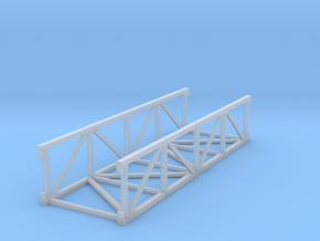 'HO Scale' - 20' Conveyor Bridge Section in Frosted Ultra Detail