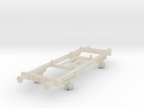 TT scale DSB Hj Vogn (Part 2/2) in White Acrylic