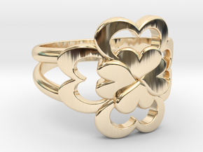 Size 6 Wife Ring  in 14K Yellow Gold