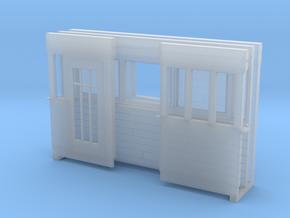 Weeghok Huis Klein H0 in Smooth Fine Detail Plastic